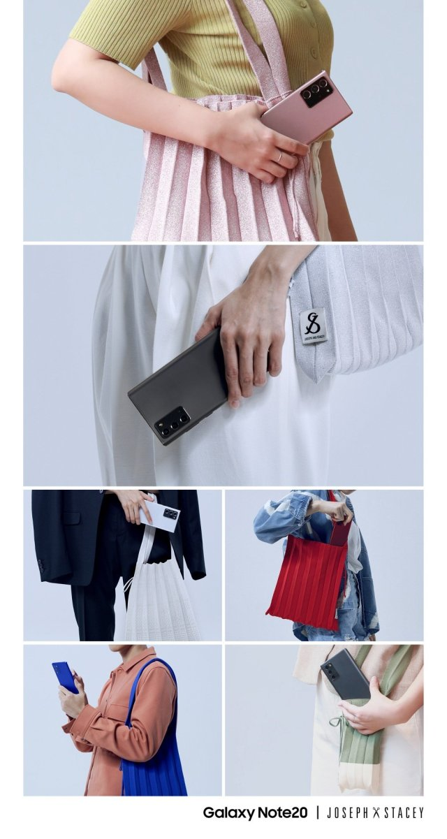Samsung Galaxy Note 20 Ultra Joseph & Stacey Bags Color Collaboration