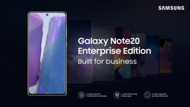Samsung Galaxy Note20 and Galaxy Tab S7 Enterprise Editions announced for Germany