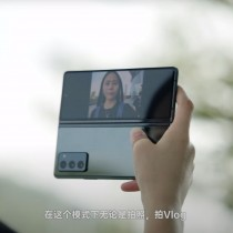 Galaxy Z Fold2 in action