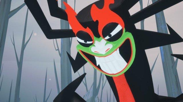 Samurai Jack Battle Through Time Aku Evil Smile