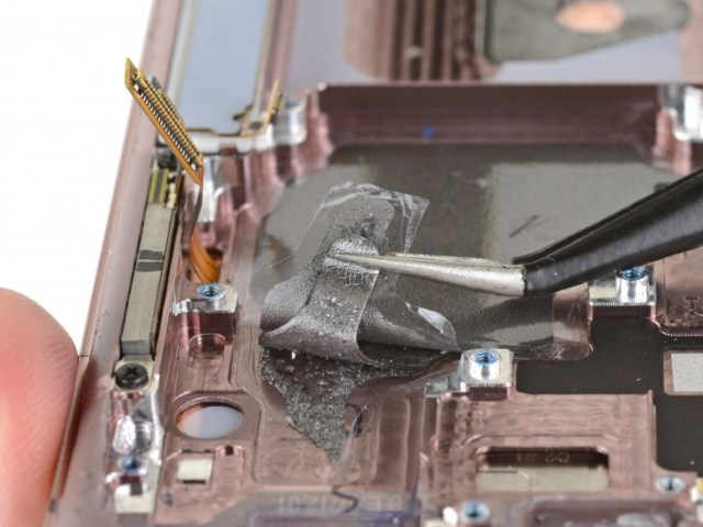 Some Galaxy Note20's have vapor chamber cooling, others use graphite