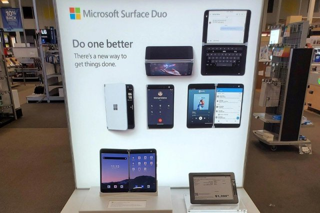 Microsoft Surface Duo Best Buy Stand