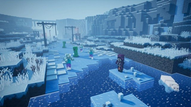Minecraft Dungeons Dlc Creeping Winter Leak