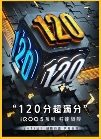 vivo iQOO 5 promo posters