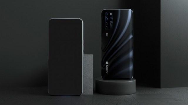 ZTE Axon 20 5G official render