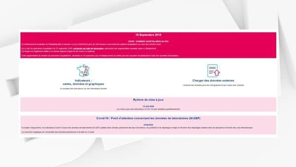 Communiqué de Santé Publique France le 18 septembre 2020.