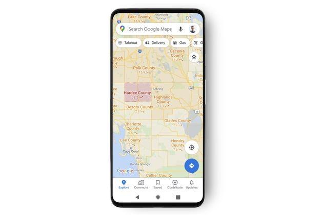 Covid-19 : Google Maps vous révèlera désormais les zones touchées par le virus