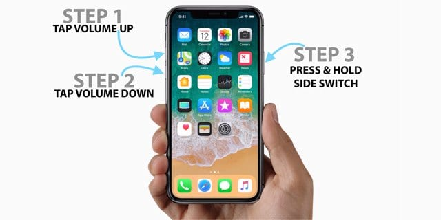 Forced Restart Not Working on iPhone 8 or iPhone X?