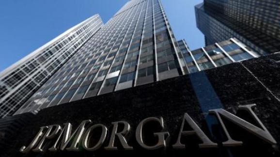 Le siège mondial de la banque JPMorgan Chase & Co. à New York, le 17 avril 2019.