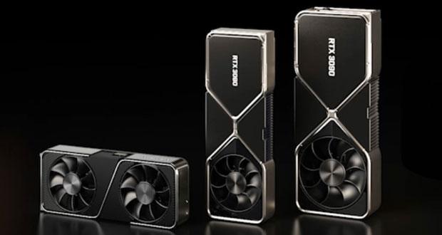 GeForce RTX 3070, 3080 et RTX 3090