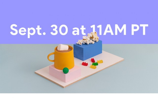 Google is announcing the Pixel 5 on September 30
