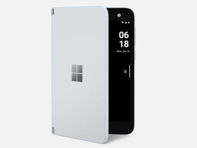 Surface Duo Peek Mode