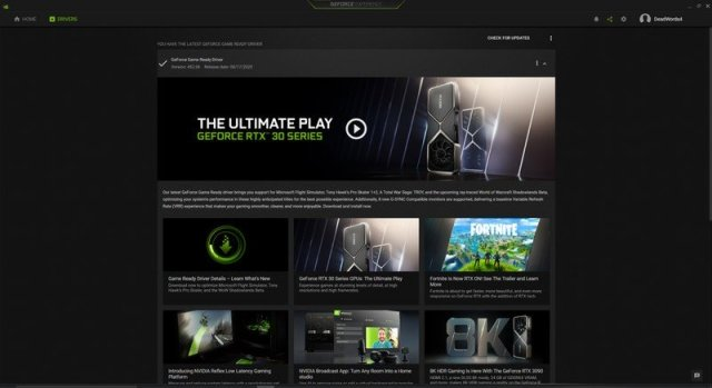 NVIDIA GeForce Experience Drivers