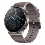 Huawei Watch GT2 Pro with leather strap