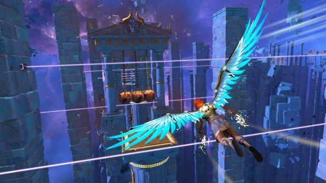 Immortals Fenyx Rising Vault Of Tartarus Fenyx Flying