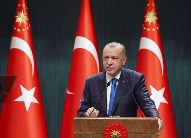 Le président turc, Recep Tayyip Erdogan, lors d'un discours à Ankara le 7 septembre.