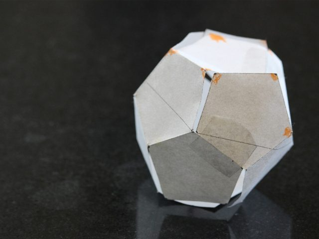paper dodecahedron
