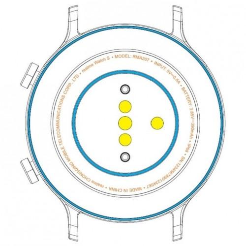 Realme Watch S specs revealed by FCC