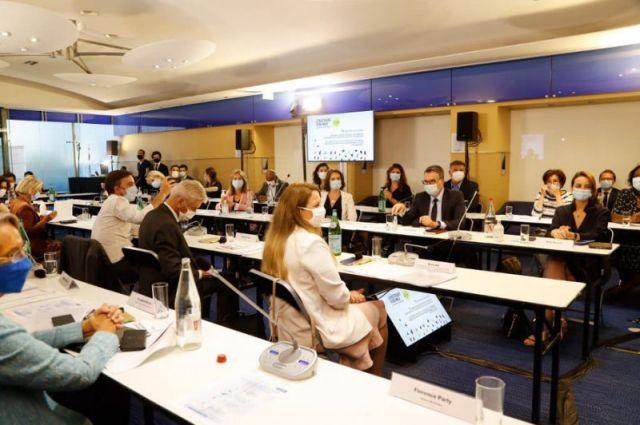 Une réunion du bureau exécutif de LaREM, le 20 juillet 2020 - AFP / François Guillot