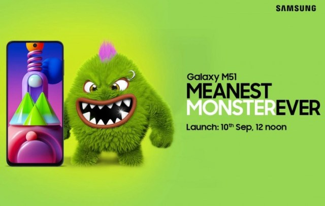 Samsung Galaxy M51 launching in India on September 10