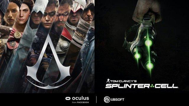 Oculus Facebook Ubisoft Assassins Creed Splinter Cell