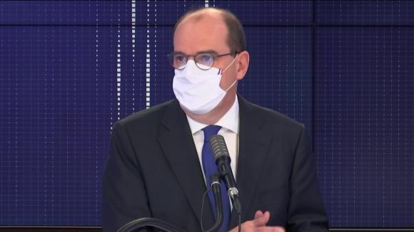 """Jean Castex, Premier ministre, était l\'invité du \""""8h30 franceinfo\"""", lundi 12 octobre 2020."""