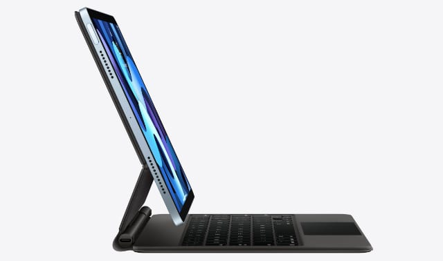 iPad Air with Apple Magic Keyboard
