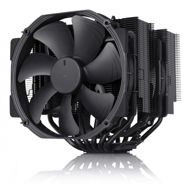 Sometimes all you need in life is a Noctua NH-D15 cooler with dual 140mm fans and 6 heat pipes.