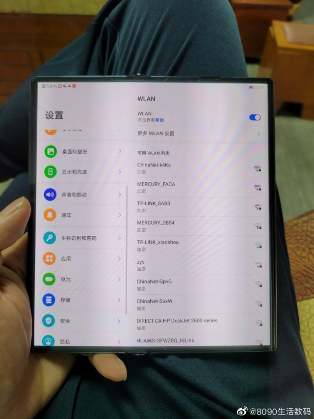 Huawei Mate X2 hands-on