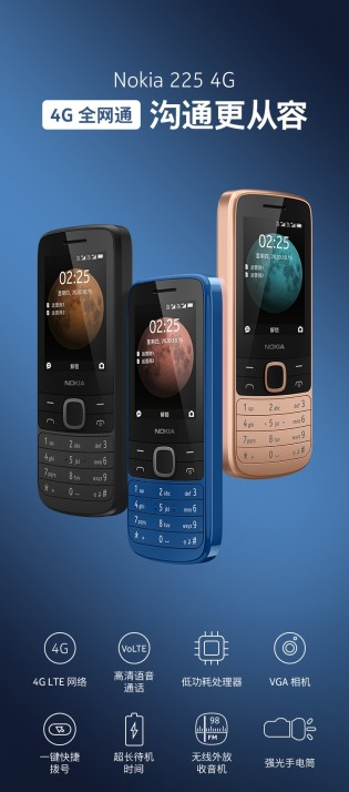 Nokia 215 4G and 225 4G banners