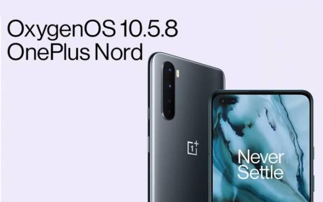 OxygenOS 10.5.8 Update OnePlus Nord
