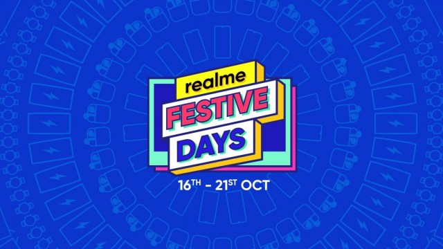 Realme Festive Days kicks off from October 16 with discounts on smartphones and AIoT products
