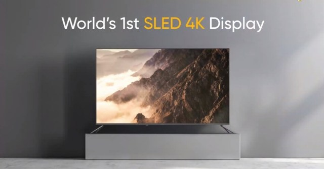 Realme unveils Smart TV SLED 4K 55'', 100W Sound Bar, and multiple AIoT products