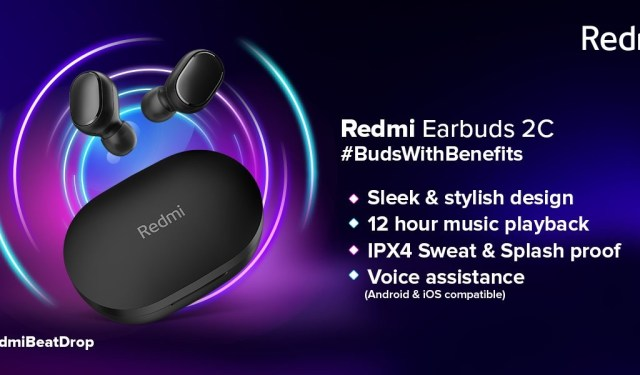 Redmi EarBuds 2C and Redmi SonicBass announced