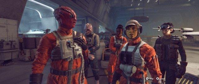 Star Wars Squadrons Crew
