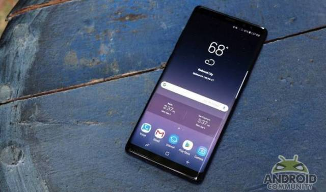 Samsung Galaxy Note 8 Android Update