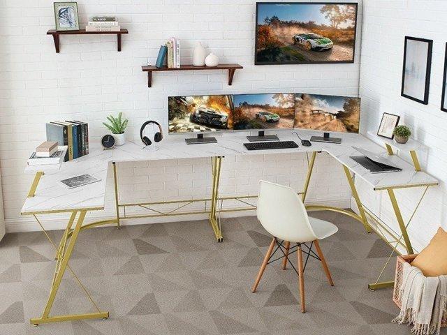 Ironstone Gaming Desk Lifestyle