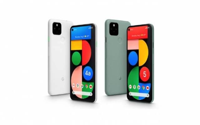 Google Pixel 4a 5G UW Pixel 5 Verizon