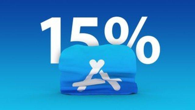 app store 15 percent feature