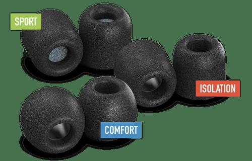 Comply Memory Foam Ear Tips