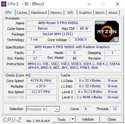GPU-Z Validation – DDR4-7004