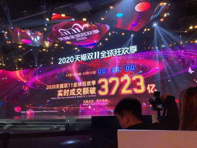 E-commerce: Alibaba bat son record de2019 en vendant 47,4milliards d'euros de marchandise à date