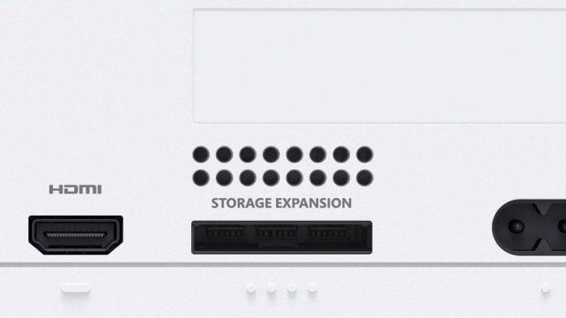 Xbox Series S SSD Expansion Port