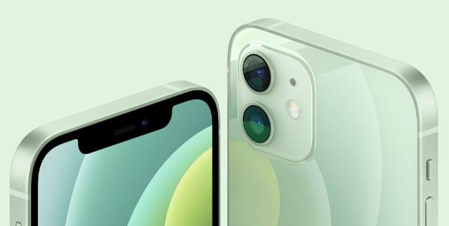 iPhone 12 green design