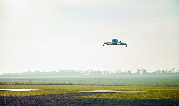 Les livraisons par drone d'Amazon ont du plomb dans l'aile, avant même d'avoir décollé