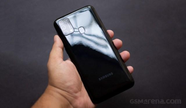 Samsung Galaxy M31 updated to One UI 2.5