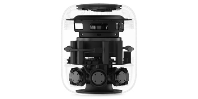 Original HomePod speaker components