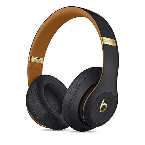 Beats Studio3 Casque circumauriculaire sans fil avec réduction du bruit - Puce Apple W1 pour casques et écouteurs, Bluetooth classe 1, mode Réduction active du bruit, 22 heures d'écoute - Noir Obscur