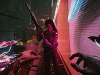 """A new launch trailer for Cyberpunk 2077 talks about """"V"""" and death"""