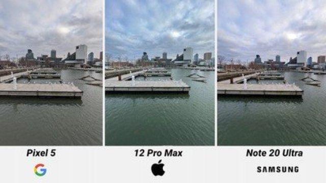 iphone 12 pro max ultrawide comparison